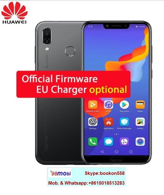 Huawei Honor Play 3750mAh Face ID Android 8.1 Smart Phone