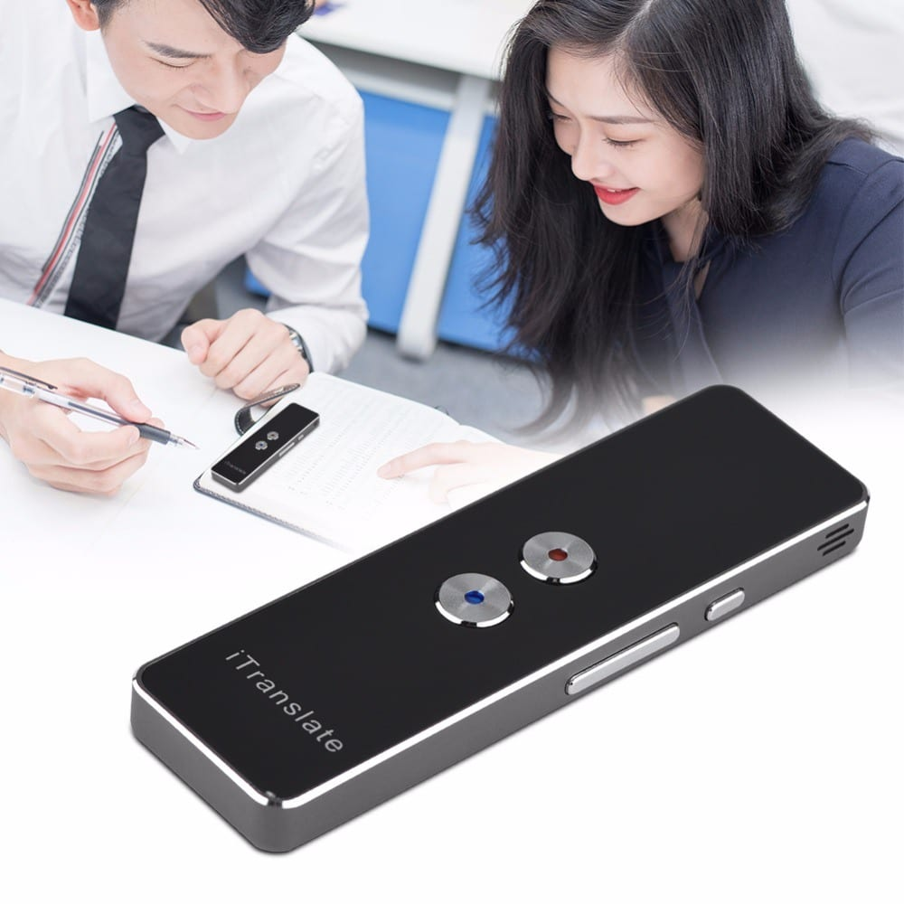 Portable Smart Language Translator Voice Instant Traductor Simultaneo Learning Travel