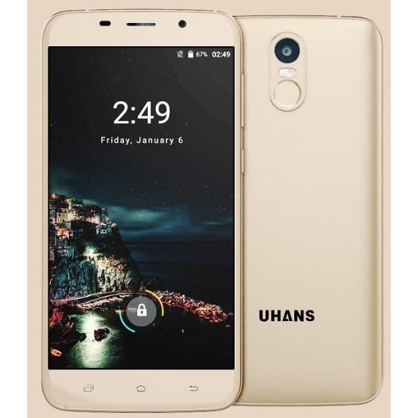Original Uhans A6 Cellphone 4150mAh Fingerprint 5.5 Inch Smart Phone