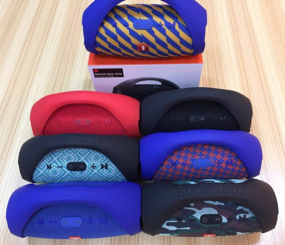 Portable Wireless Speaker Boombox Drums Stereo Speaker for Smart Phone Featured Image