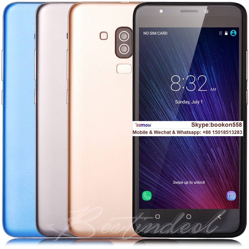 "5.5"" Android7.0 Dual SIM Smartphone GSM Unlocked Smart Phone Moviles"