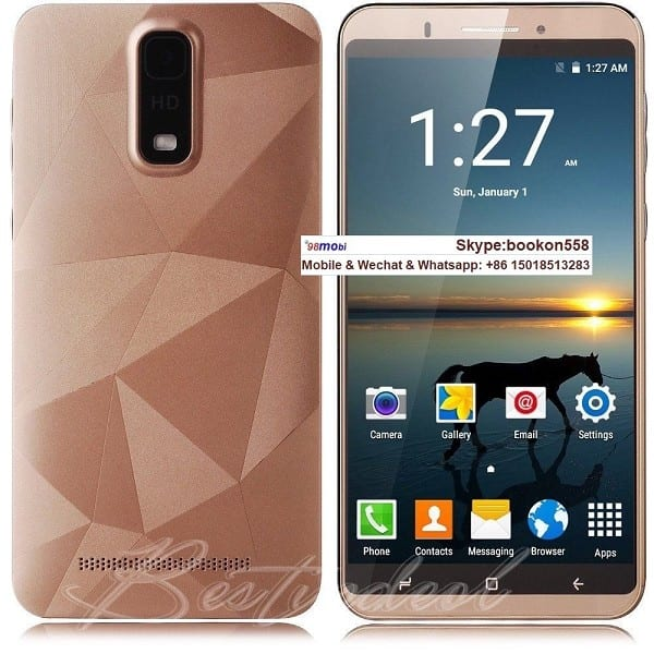 "Unlocked 6.0"" Android 6.1 Dual SIM 3G Smart Phone Moviles"