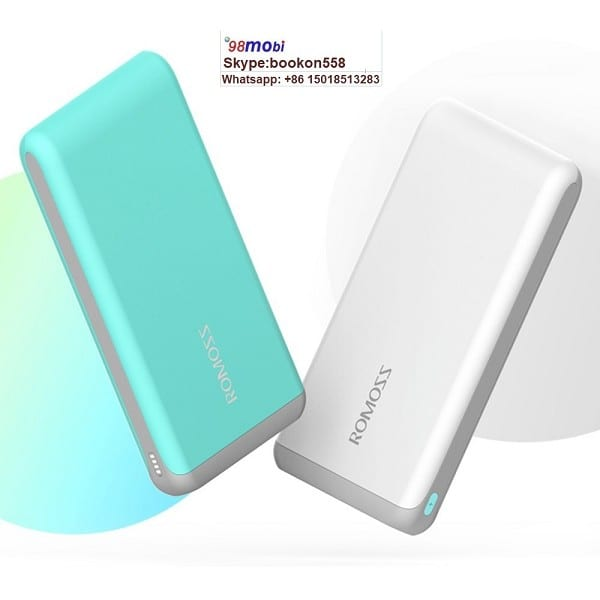 10000mAh Li-Polymer Dual USB Portable Power Bank for Smart Phone