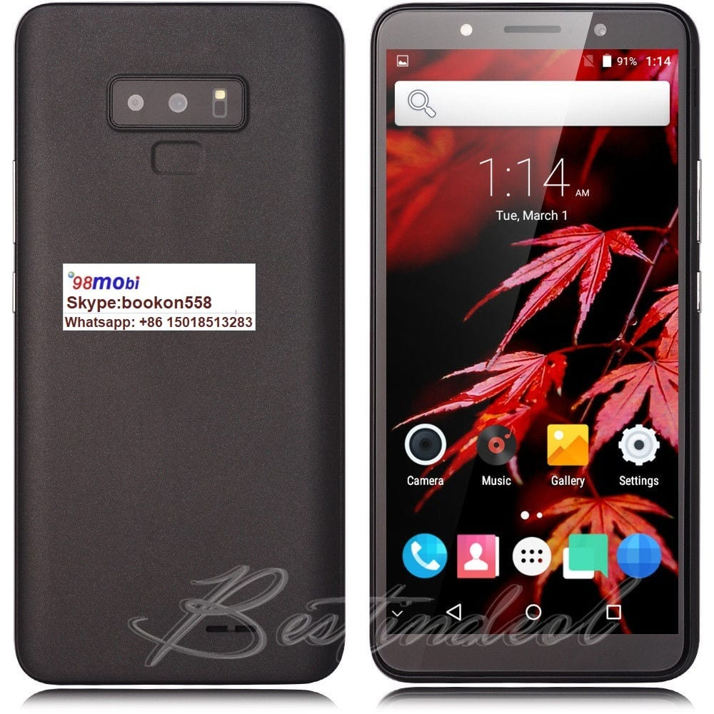 Cellphone 6.0″ Celulares Moviles Q19 WCDMA Smart Phone Unlocked 2SIM