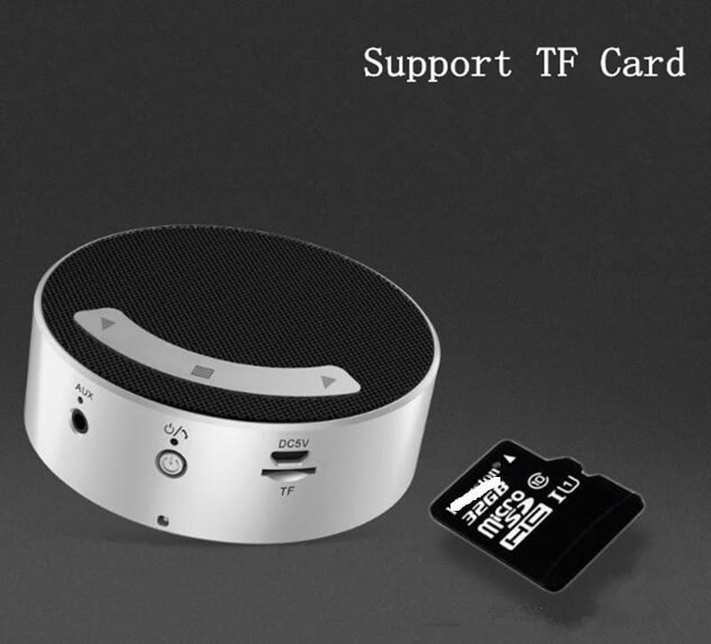 Q7 Mini Touch Bluetooth Speaker Portable Wireless MP3 Player Speaker
