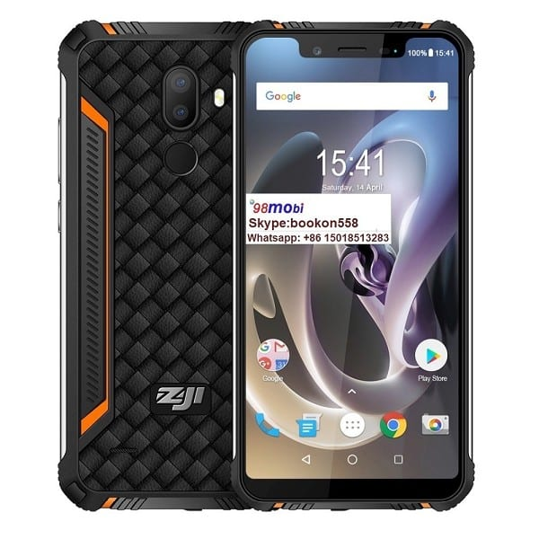 Zoji Z33 4600mAh Face ID IP68 Waterproof Rugged Smart Phone