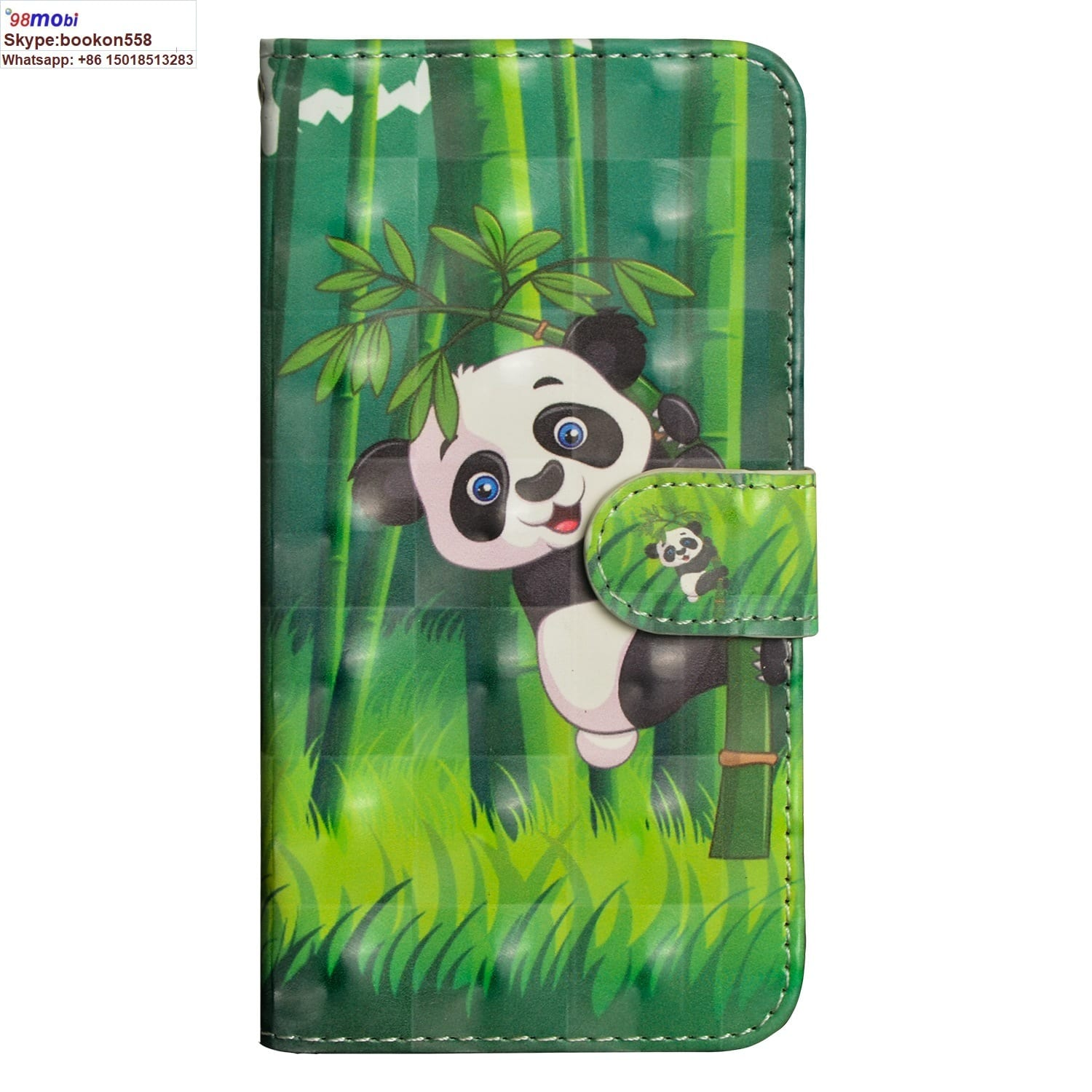 3D Painting Card Smart Phone Case for iPhone, Samsung, Huawei