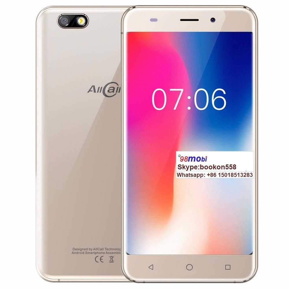 "Allcall Madrid 3G Mobile Phone Quad Core 5.5"" Smart Phone"