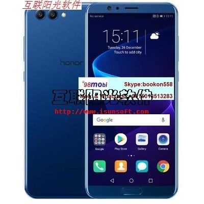 Global ROM Huawei Honor V10 Face Recognition Smart Phone Cellphone