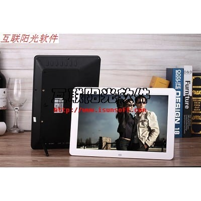 Multi-Language 12 Inch 1280*800 Digital Photo Frame Photo Album