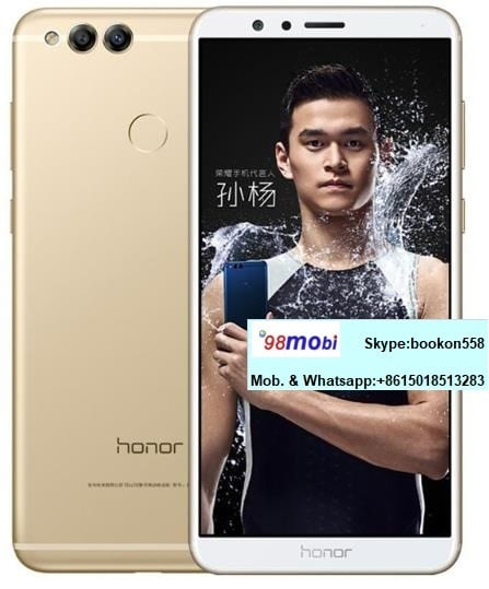 Huawei Honor 7X Smart Phone Cellphone Smartphone Moviles Celualres 4GB/128GB