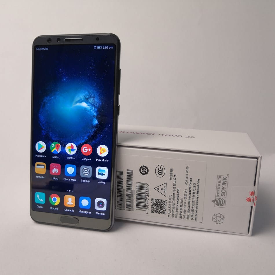 Huawei Nova 2s Android 8.0 Smart Phone Celulares Cellphone Moviles