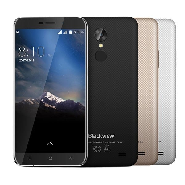 Blackview A10 Smartphone Rear Touch ID Celulares Movil Cellphone Telefonia