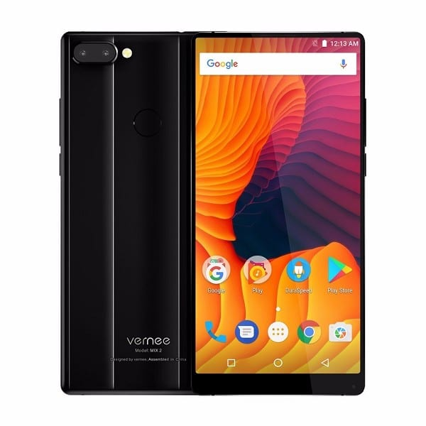 Vernee Mix 2 Cellphone 6GB+64GB 18: 9 FHD+ Smart Phone