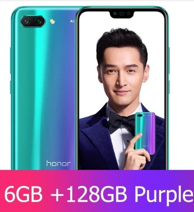 Huawei Honor 10 6GB RAM 128GB ROM Ai Smart Phone