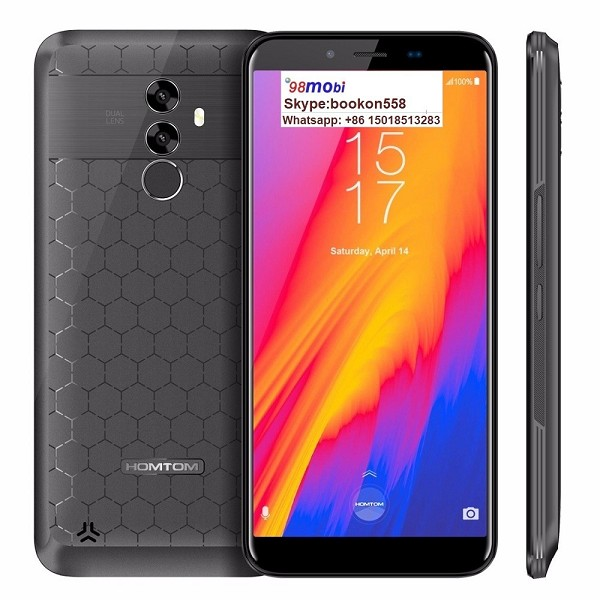 Homtom S99 Android 8.0 4GB+64GB Octa Core Smart Phone 6200mAh