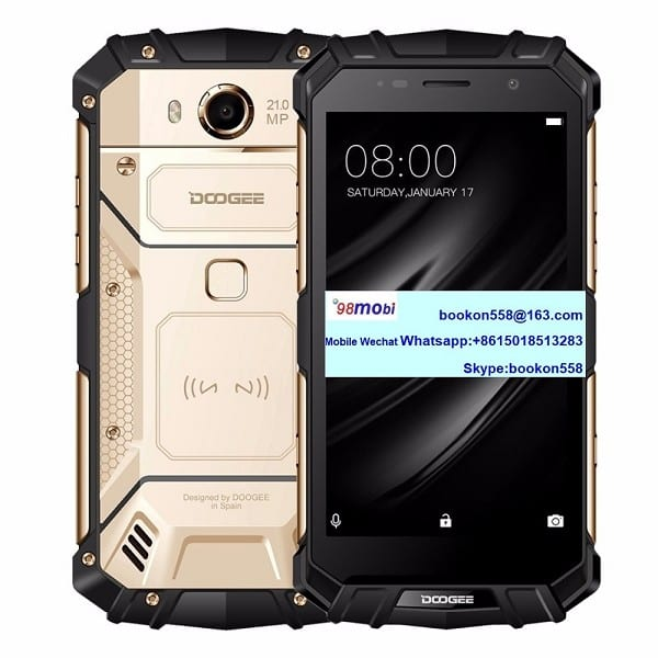Doogee S60 IP68 Cellular Moviles Smart Phone Wireless Charging Smartphone