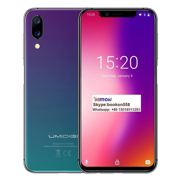 "Umidigi One 5.9"" Mobile Phone Fast Charging Cellphone Smart Phone"