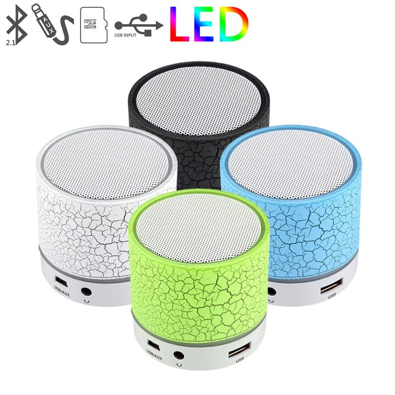 Wireless Portable Bluetooth Speakers Hands Free Subwoofer Loudspeakers Wireless Speaker Featured Image