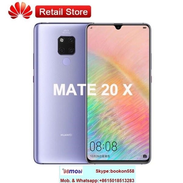 Cellphone Huawei Mate 20 X Smart Phone Moviles Celulares Telefoni