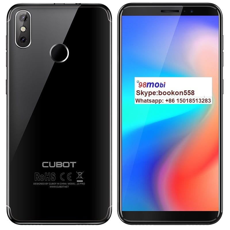 Cubot P20 Notch Screen Smart Phone Smartphone 4G Lte Moviles