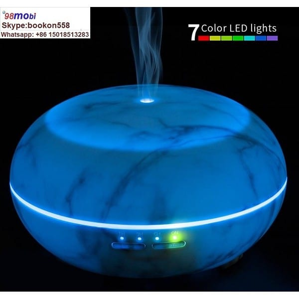 Portable 300 Ml Cool-Mist Ultrasonic Aromatherapy Essential Oil Diffuser Humidifier
