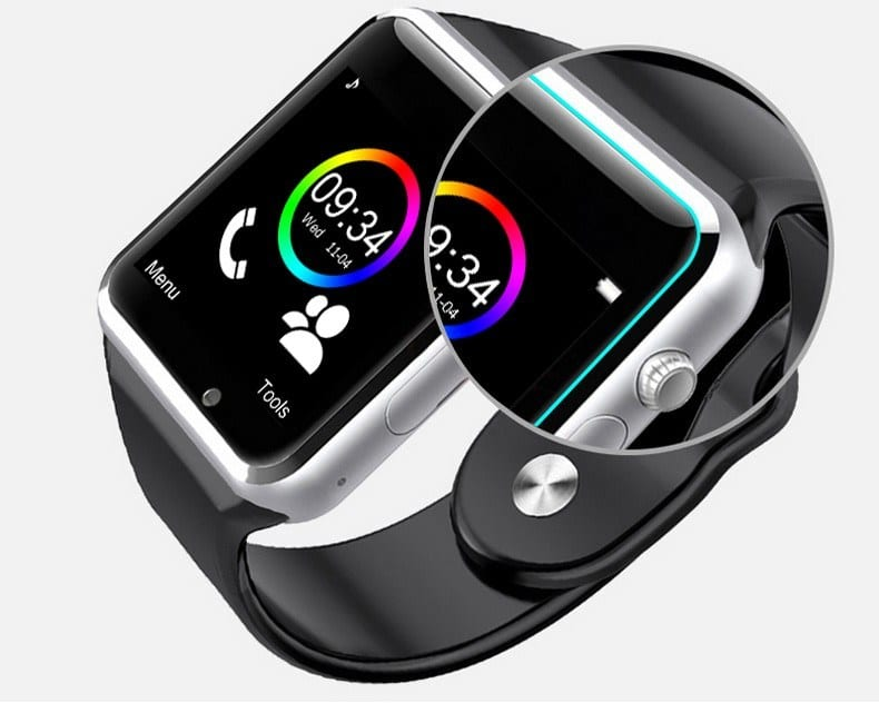 Bluetooth Smartwatch A1 with 2g SIM for Android Smart Phone Featured Image