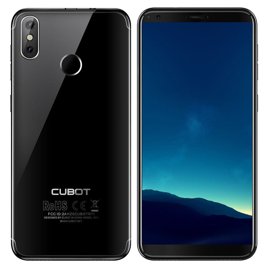 "Cubot R11 3G WCDMA Fingerprint 5.5"" All Screen Smart Phone"