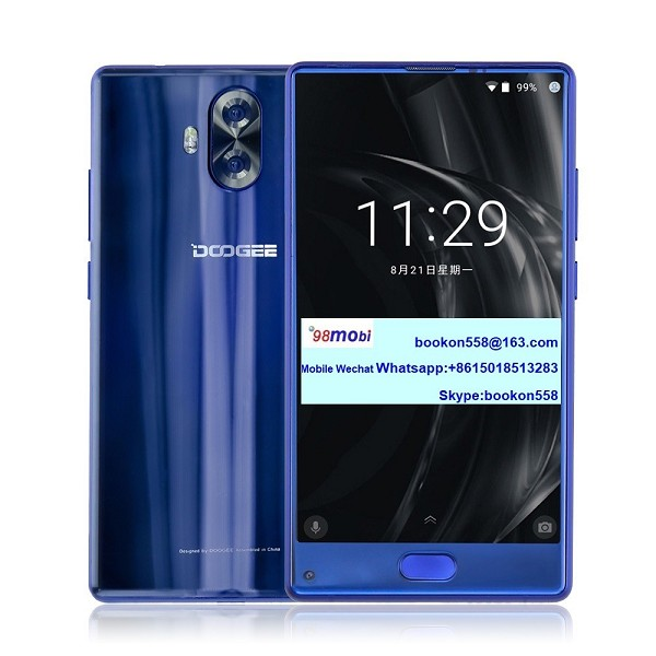 Doogee Mix Lite Smart Phone Dual Rear Cameras Cellphone Movil