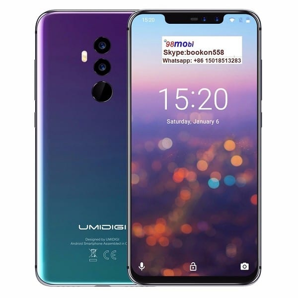 Factory source Samsung Galaxy Note9 - Umidigi Z2 PRO Android 8.1 Global 4G Cellphone Smart Phone – Wisdom