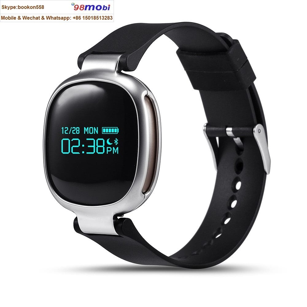 E08 Heart Rate Monitor Waterproof Bluetooth Pedometer Smart Watch Featured Image