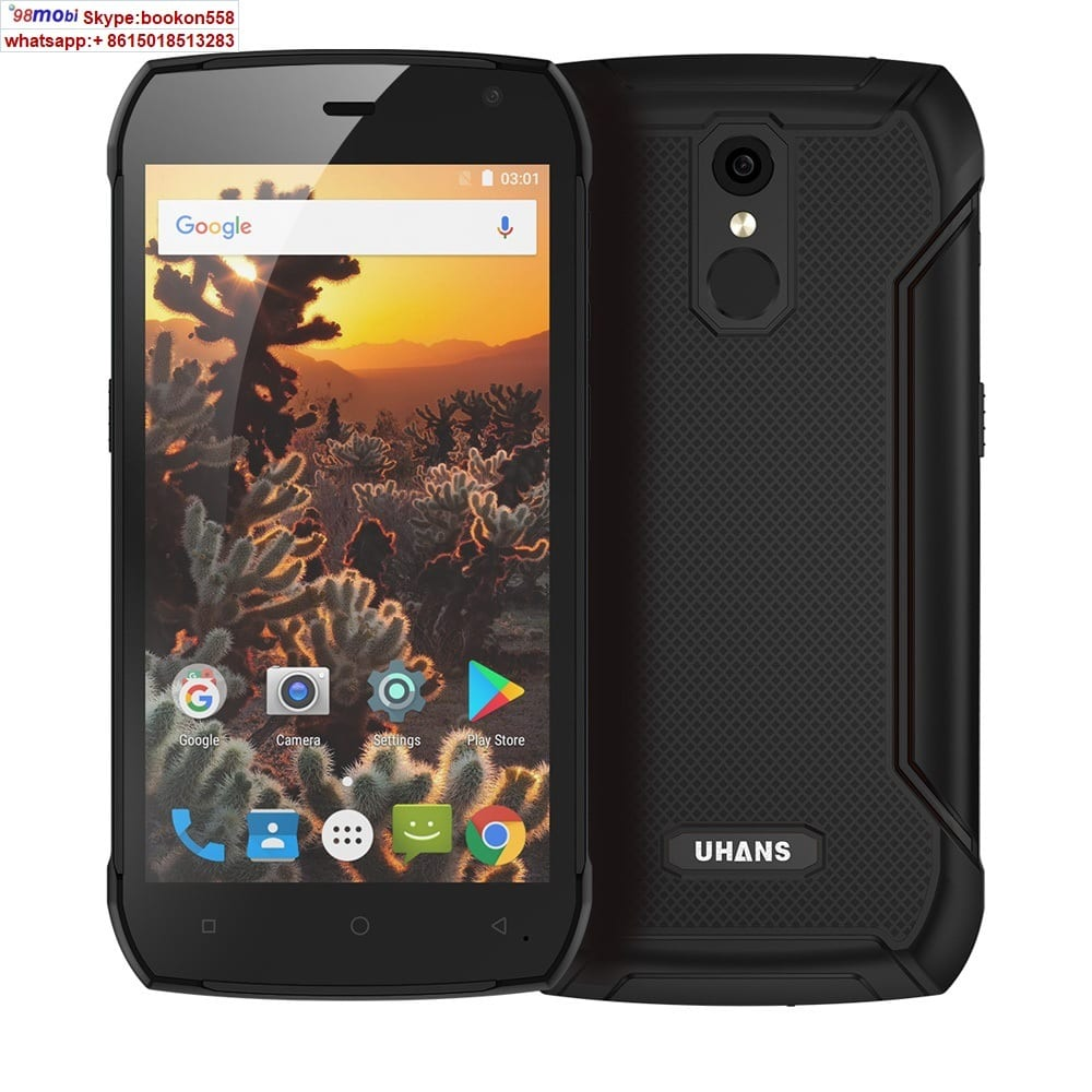 Uhans K5000 5000mAh IP68 Waterproof Smart Phone