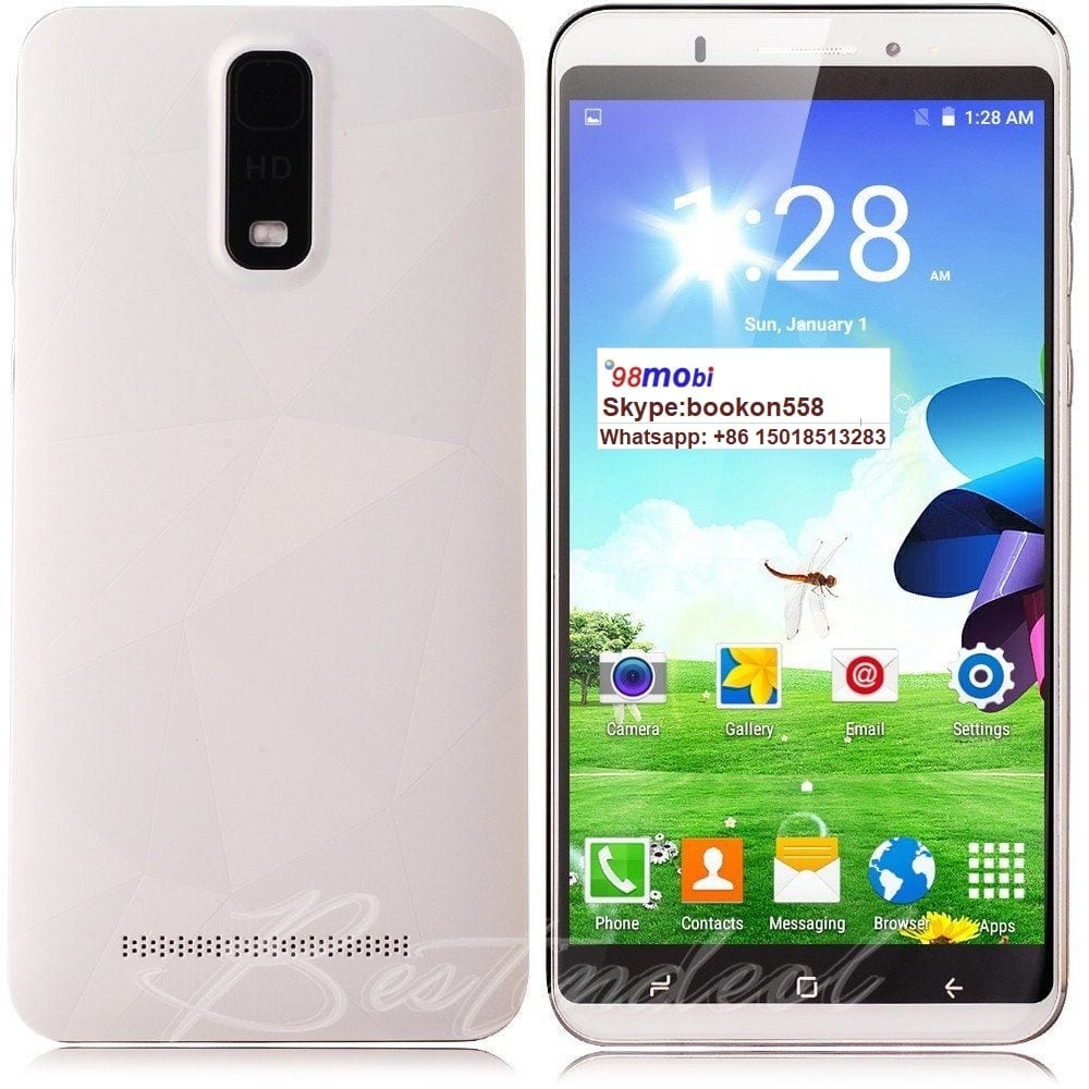 "6"" 3G Unlocked Android 6.1 Smartphone 5MP+5MP Smart Phone Moviles"