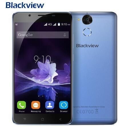 Blackview P2 4G 6000mAh Cellphone Celulares Movil Telefonia Smart Phone