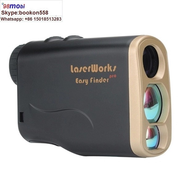 Laser Ranging Telescope Handheld 600m Golf Rangefinder Telescope Portable Telescope