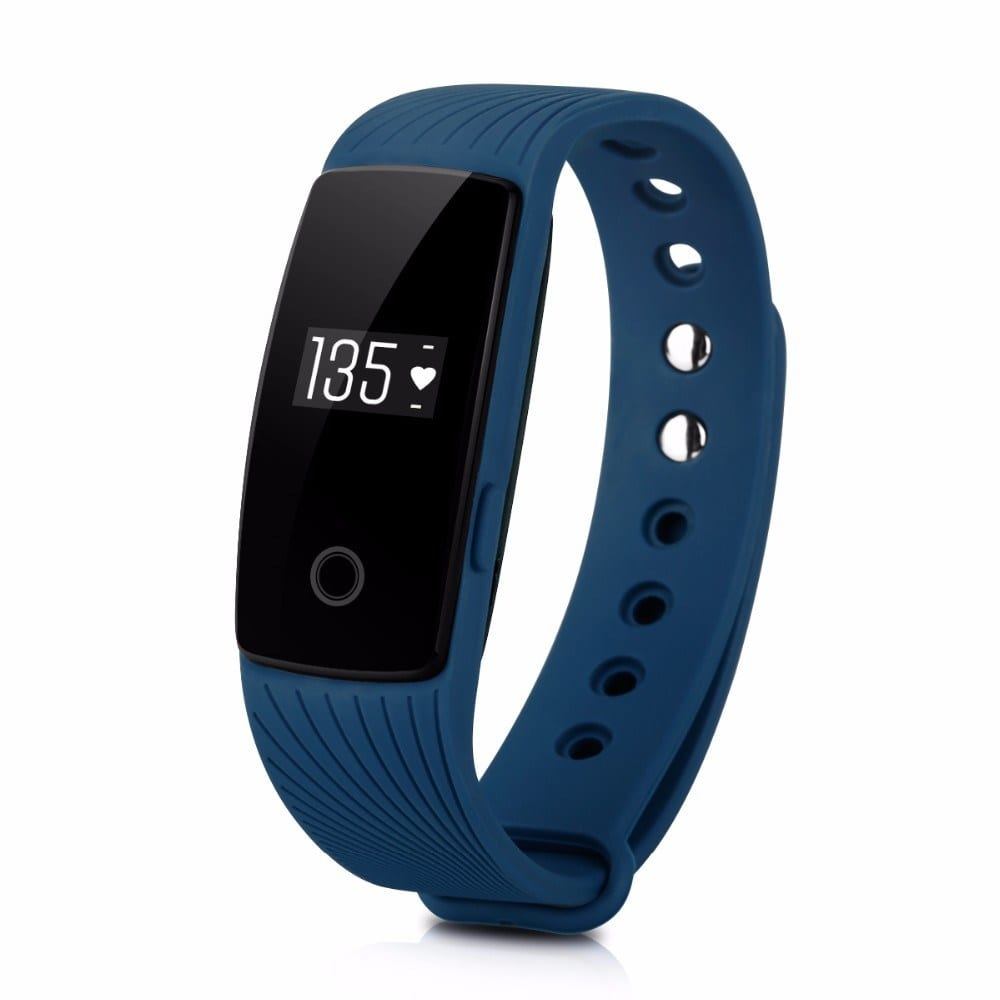 ID107 Smart Bracelet Heart Rate Calorie Sleep Monitor Wristband
