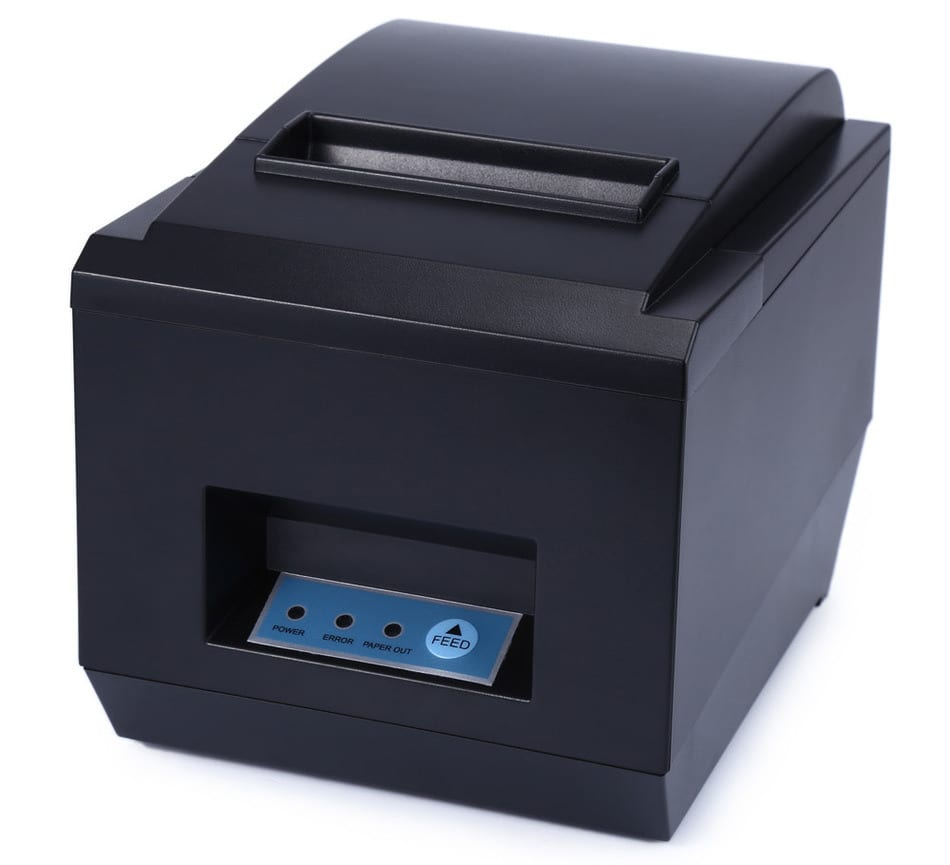 High-Speed 80mm Thermal Printer Receipt Small Ticket Barcode POS Printer