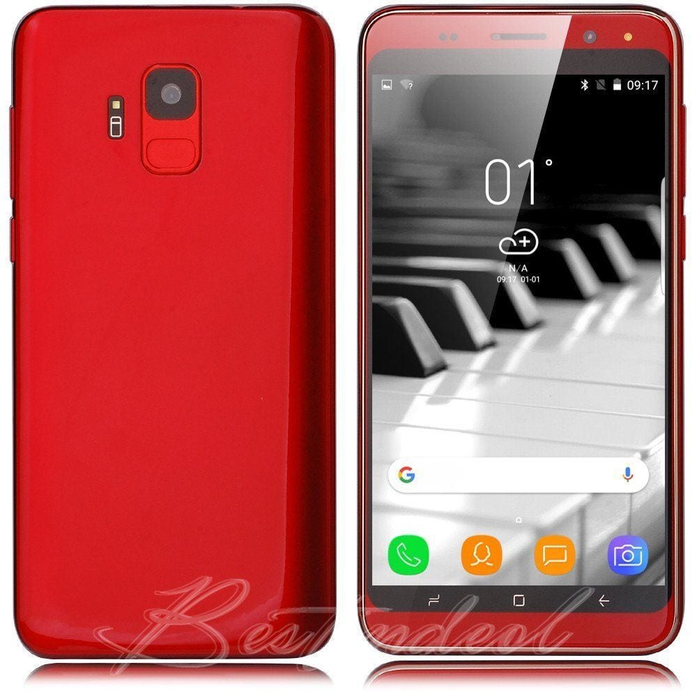 "5.0"" Android Moviles Factory Unlocked Cell Phone S9 Smart Phone"