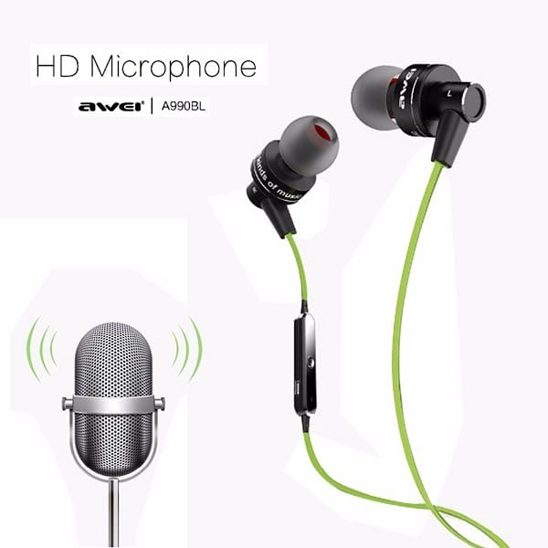 Earphone A990bl Sweatproof Sport Headphones for Ios Android Smart Phone
