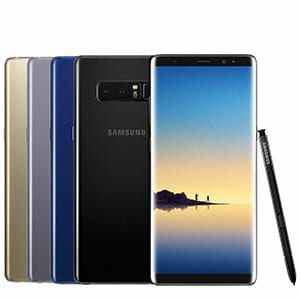 "100% Original 6"" Cellphone - SAMSUNG Galaxy NOTE 8 SMART PHONE Original Factory Unlocked – Wisdom"