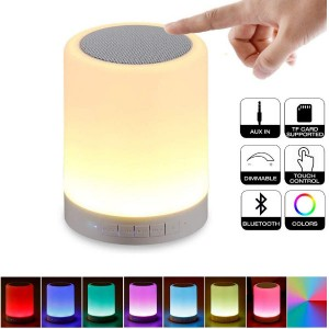 Touch Control Bluetooth Led Lamp speaker