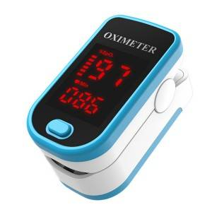 Fingertip clip oximete blood oxygen saturation monitor Oximeter