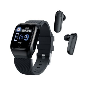 S300 Smart Watch Heart Rate Monitor Bluetooth Earphone