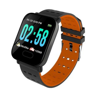 A6 Wristwatch Sports Fitness Smartwatch