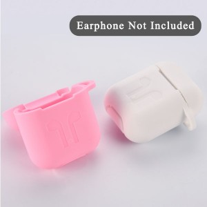 TPU Soft Silicone Colorful Case For Apple AirPods 2 Earbuds