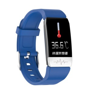 T1 SmartWatch Men Women Temperature Immune Measure ECG Heart Rate Blood Pressure Monitor
