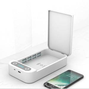 UV sterilizer multifunctional mobile phone sterilization box