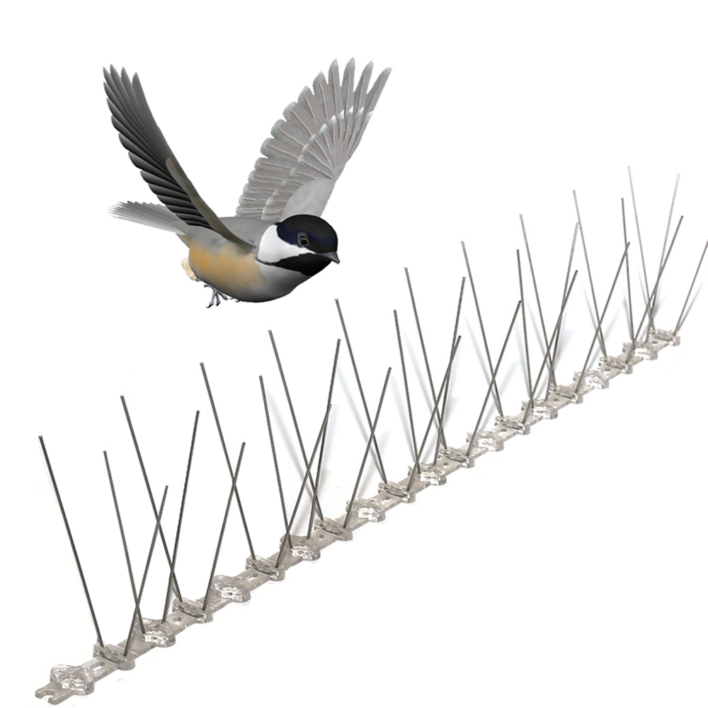 304 Stainless Steel Anti Pigeon Repeller Bird Control Bird Spikes