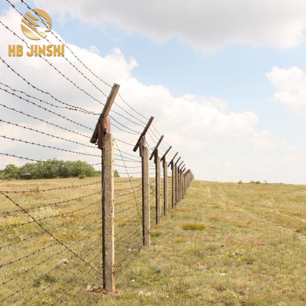 4 point Double Twist Barbed wire For Military