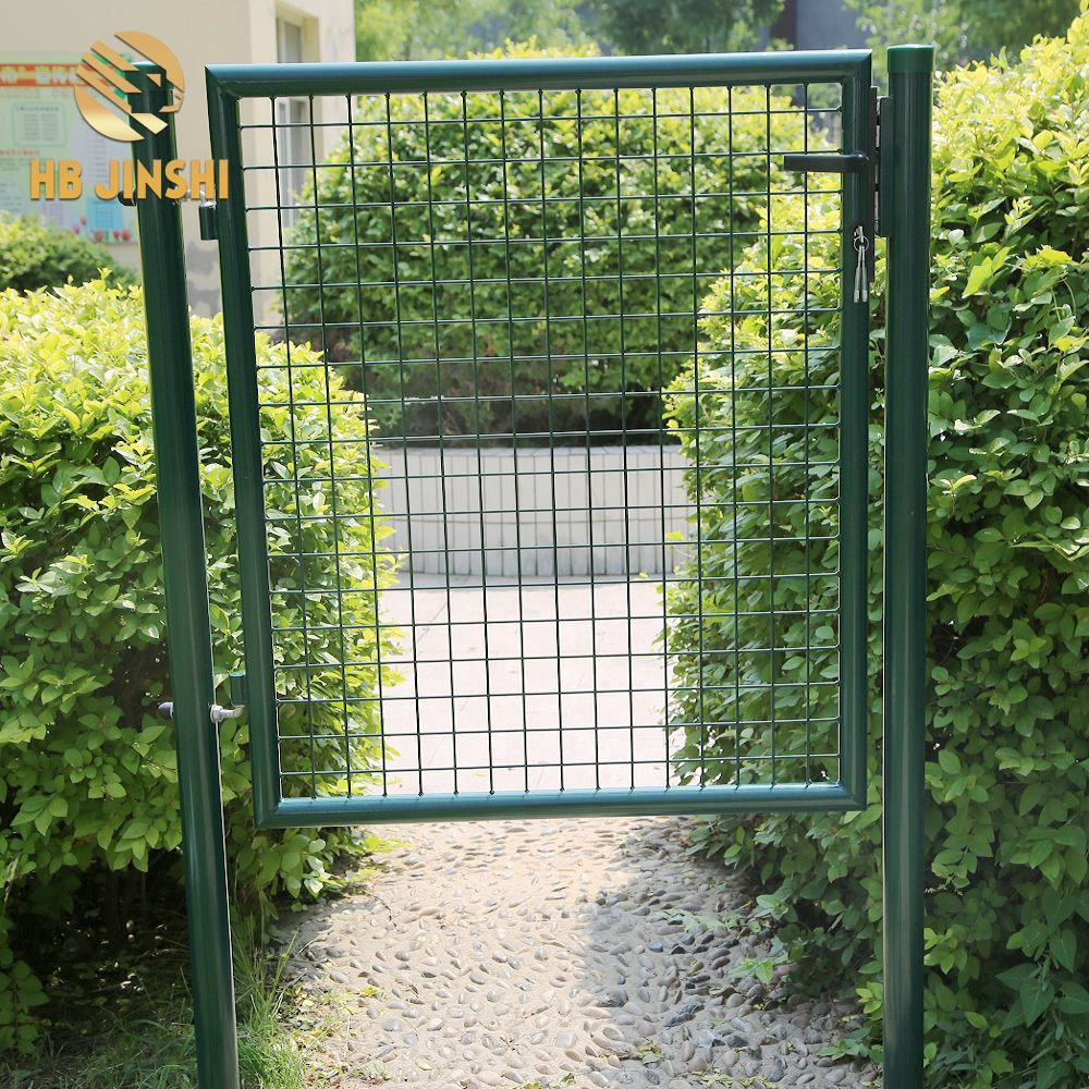 Single Metal Garden Gate With Safety Lock Protect Your Garden